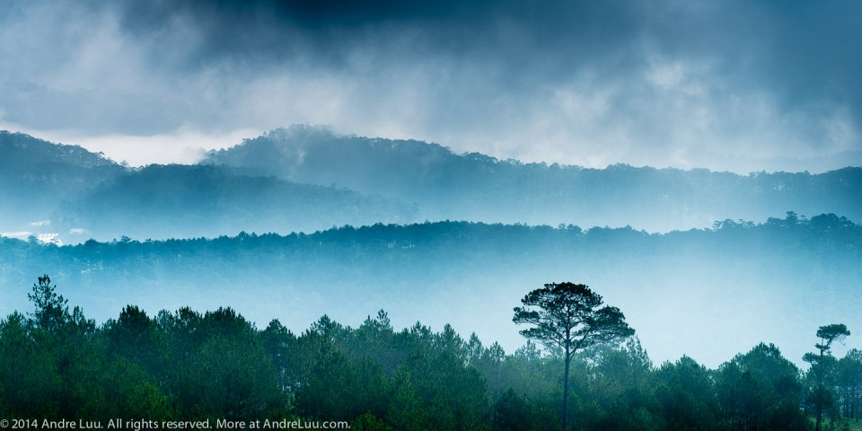 Fog Admidst Blue Mountains