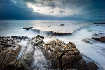 Hang Rái Trong Mây Mù (Vĩnh Hy) 2 giây F/8 ISO 100 WB 4900K. Sony A7R + Lens Voigtlander 12 với adapter.