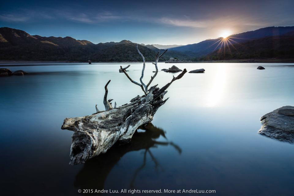 30 giây ISO 50 f/16 WB 6000K. Sony A7R + Canon 16-35 f4 với adapter điện tử AndreLuu. Hồ Thái An Vĩnh Hy.