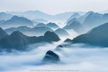 DÒNG CHẢY BẮC SƠN. 50 giây f/11 ISO 100 WB 5660K. Sony a7r + lens Contax N/Carl Zeiss 70-200 f/4 @ 100mm. Bắc Sơn, Lạng Sơn.