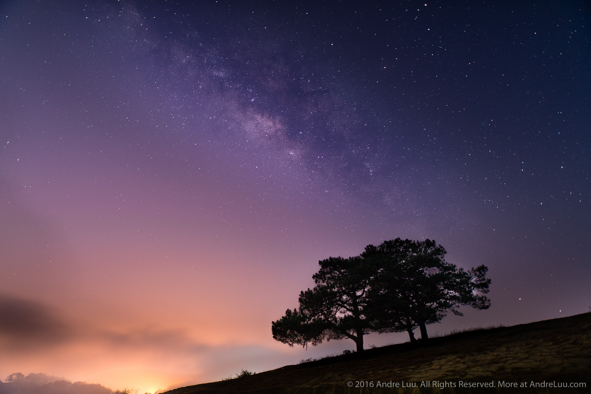 LƯỠNG DIỆN NGÂN HÀ (TWO SIDES OF THE MILKYWAY) 25s f/1.4 ISO