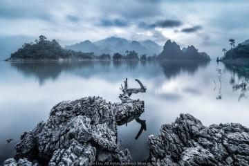 VẦN VŨ NA HANG (Viking Clouds) 61s f/11 ISO 50 WB 3500, Sony a7rII + Voigtlander 12v2 (Mod AndreLuu) +Center Filter + Gnd 3rev  +  ND 10. Na Hang, Tuyên Quang @ 7:17am.