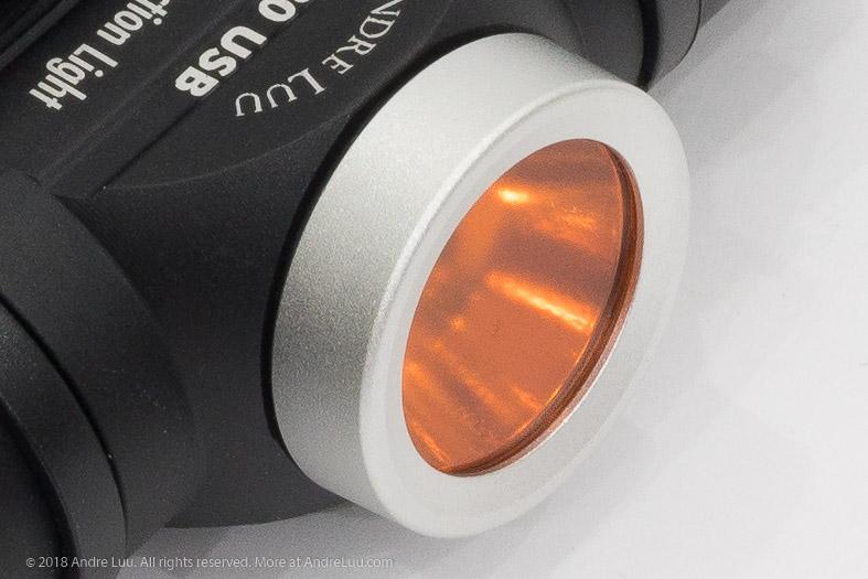 Filter cam đặc biệt do Nikon sản xuất.
