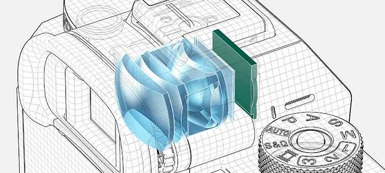 EVF phân giải cao, sáng và trung thực mới của Sony a7r III